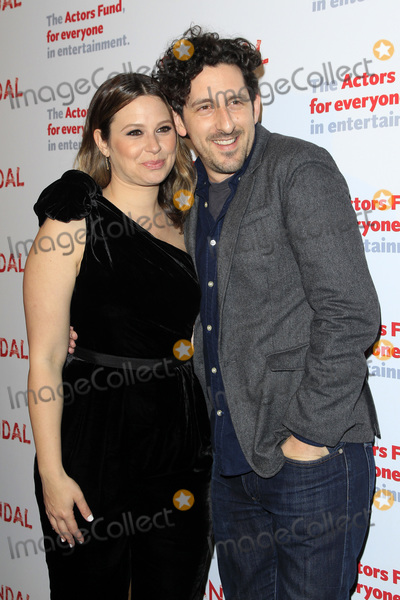 "Adam Shapiro, Katie Lowes, Katies Lowes, The Actor Photo - LOS ANGELES - APR 19:  Katie Lowes, Adam Shapiro at the The Actors Fund's ""Scandal"" Finale Live Stage Reading on the El Capitan Theater on April 19, 2018 in Los Angeles, CA"