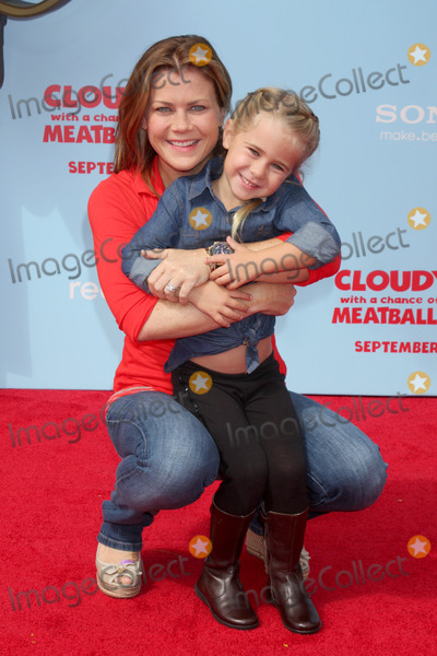 """Alison Sweeney Photo - LOS ANGELES - SEP 21:  Alison Sweeney, Megan Hope Sanov at the """"Cloudy With A Chance of Meatballs 2"""" Los Angeles Premiere at Village Theater on September 21, 2013 in Westwood, CA"""