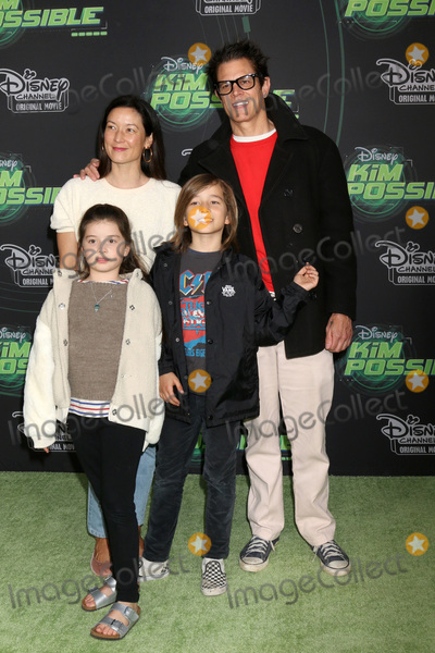 "Johnny Knoxville Photo - LOS ANGELES - FEB 12:  Johnny Knoxville, Family at the ""Kim Possible"" Premiere Screening at the TV Academy on February 12, 2019 in Los Angeles, CA"