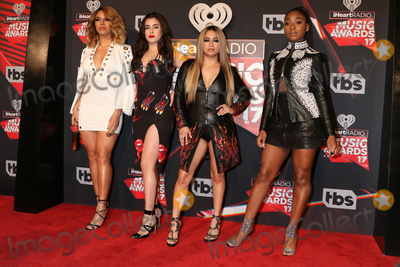 Fifth Harmony, Ally Brooke, Lauren Jauregui, Normani Kordei, Dinah Jane Photo - LOS ANGELES - MAR 5:  Fifth Harmony, Dinah Jane, Lauren Jauregui, Ally Brooke, Normani Kordei at the 2017 iHeart Music Awards at Forum on March 5, 2017 in Los Angeles, CA