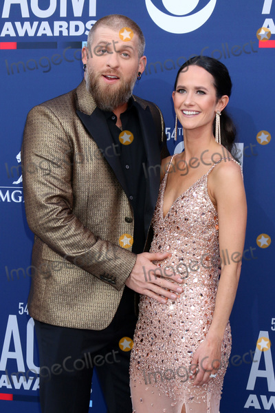 Brantley Gilbert, Amber Cochran Photo - LAS VEGAS - APR 7:  Brantley Gilbert, Amber Cochran at the 54th Academy of Country Music Awards at the MGM Grand Garden Arena on April 7, 2019 in Las Vegas, NV