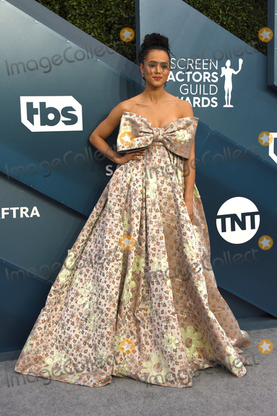 Nathalie ., Nathalie Emmanuel, Nathalie Emmanuelle Photo - LOS ANGELES - JAN 19:  Nathalie Emmanuel at the 26th Screen Actors Guild Awards at the Shrine Auditorium on January 19, 2020 in Los Angeles, CA