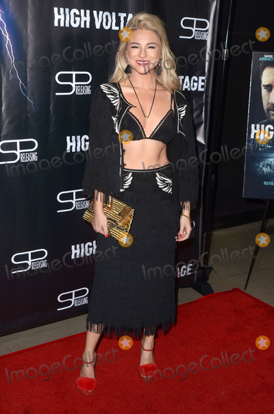 """Allie Gonino Photo - LOS ANGELES - OCT 16:  Allie Gonino at the """"High Voltage"""" Los Angeles Red Carpet Premiere at the TCL Chinese 6 Theater on October 16, 2018 in Los Angeles, CA"""