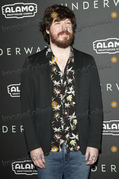 "Gallagher, John Gallagher, John Gallagher Jr., John Gallagher, Jr. Photo - LOS ANGELES - JAN 7:  John Gallagher Jr at the ""Underwater"" Fan Screening at the Alamo Drafthouse Cinema on January 7, 2020 in Los Angeles, CA"