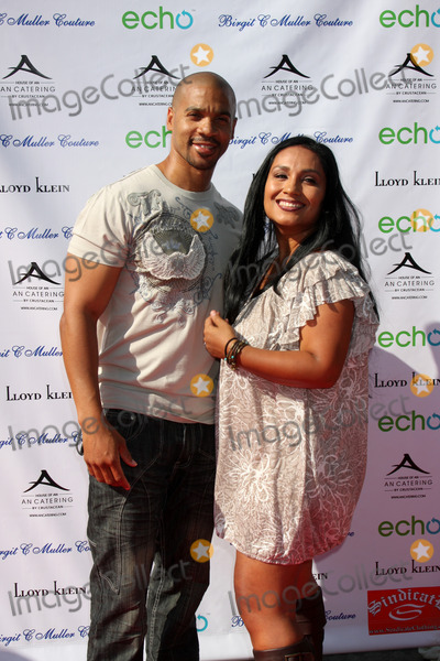 Aaron Spears Photo - Aaron Spears & wifearrives at the Birgit C. Muller Fashion Show atChaves Ranch inLos Angeles, CA onJuly 11, 2010