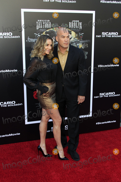 """Amber Nicole, Nicole Miller, Tito Ortiz Photo - LOS ANGELES - JUN 26:  Amber Nicole Miller, Tito Ortiz at the """"Sicario: Day Of The Soldado"""" Premiere at the Village Theater on June 26, 2018 in Westwood, CA"""
