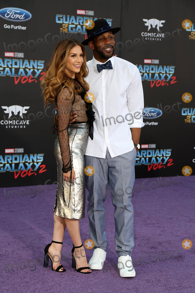 "Stephen Boss, Allison Holker Photo - LOS ANGELES - APR 19:  Allison Holker, Stephen Boss at the ""Guardians of the Galaxy Vol. 2"" Los Angeles Premiere at the Dolby Theater on April 19, 2017 in Los Angeles, CA"