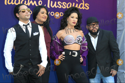 A. B. Quintanilla, A.B. Quintanilla, AB Quintanilla, Chris Perez Photo - LOS ANGELES - AUG 30:  Chris Perez, Suzette Quintanilla, Selena Quintanilla Wax Figure, A.B. Quintanilla at the Selena Quintanilla Wax Figure Unveiling at the Madame Tussauds Hollywood on August 30, 2016 in Los Angeles, CA