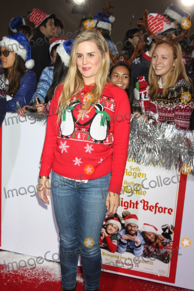 """Alison Lohman Photo - LOS ANGELES - NOV 17:  Alison Lohman at the """"The Night Before"""" LA Premiere at the The Theatre at The ACE Hotel on November 17, 2015 in Los Angeles, CA"""