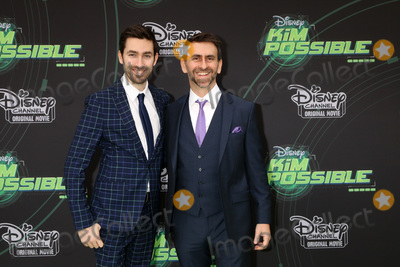 "Photo - LOS ANGELES - FEB 12:  Zach Lipovsky, Adam B Stein at the ""Kim Possible"" Premiere Screening at the TV Academy on February 12, 2019 in Los Angeles, CA"