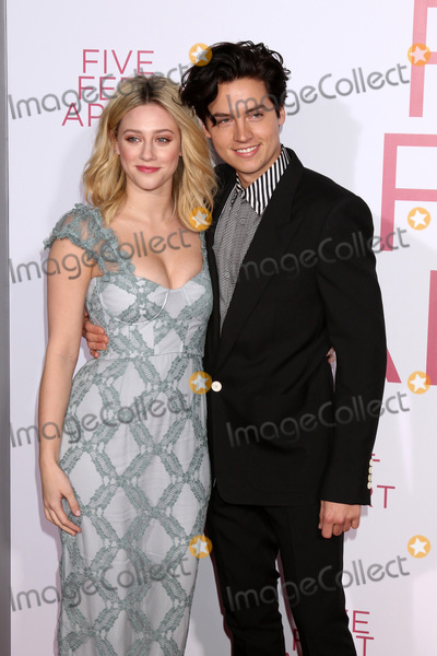 """Cole Sprouse, Lili Reinhart Photo - LOS ANGELES - MAR 7:  Lili Reinhart, Cole Sprouse at the """"Five Feet Apart"""" Premiere at the Bruin Theater on March 7, 2019 in Westwood, CA"""