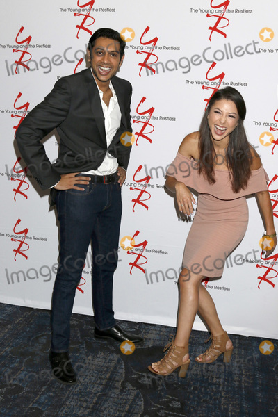 Abhi Sinha Photo - LOS ANGELES - AUG 19:  Abhi Sinha, Laur Allen at the Young and Restless Fan Event 2017 at the Marriott Burbank Convention Center on August 19, 2017 in Burbank, CA