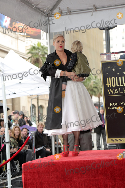 Alecia Moore, Pink, Pink (Alecia Moore) Photo - LOS ANGELES - FEB 5:  Pink, Alecia Moore, Jameson Hart at the Pink Star Ceremony on the Hollywood Walk of Fame on February 5, 2019 in Los Angeles, CA