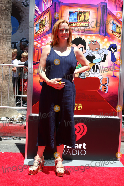 """Annie Wersching Photo - LOS ANGELES - JUL 22:  Annie Wersching at the """"Teen Titans Go! To the Movies"""" Premiere on the TCL Chinese Theater IMAX on July 22, 2018 in Los Angeles, CA"""