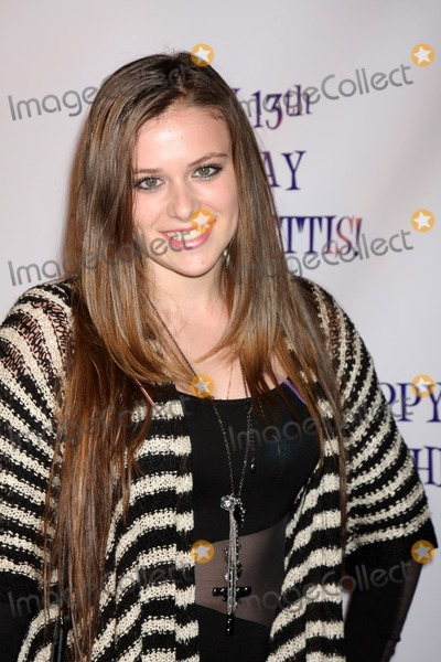 LOS ANGELES - JUL 31:  Caitlin Beadles arriving at the13th Birthday Party for Madison Pettis at Eden on July 31, 2011 in Los Angeles, CA