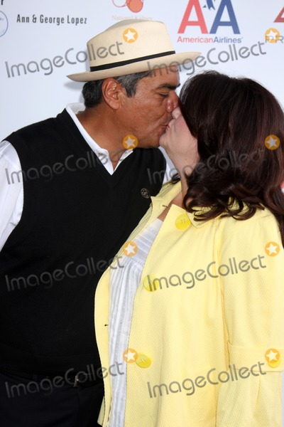 Ann Lopez, The National Photo - George & Ann Lopez  arriving at the National Kidney Foundation Celebrity Golf Classic  at the Lakeside Lakeside Golf Club in Burbank, CA onMay 4, 2009