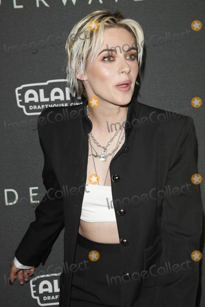 "Kristen Stewart Photo - LOS ANGELES - JAN 7:  Kristen Stewart at the ""Underwater"" Fan Screening at the Alamo Drafthouse Cinema on January 7, 2020 in Los Angeles, CA"