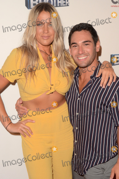 """Photo - LOS ANGELES - SEP 26:  Christie Murphy, Tommy Bracco at the """"Big Brother"""" 21 Finale Party at the Edison on September 26, 2019 in Los Angeles, CA"""