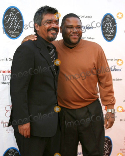 Anthony Anderson, George Lopez Photo - George Lopez & Anthony Anderson