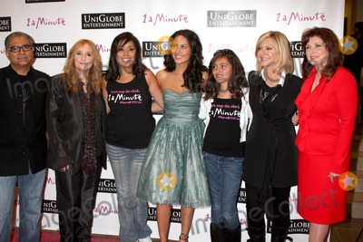 "Deepak Chopra, Melissa Etheridge, Barbara Mori, John Morgan, Morgan Brittany, Olivia Newton-John Photo - LOS ANGELES - OCT 6:  Deepak Chopra, Melissa Etheridge, Namrata Singh Gujral, Barbara Mori, Jasmine Cooper, Olivia Newton-John, Morgan Brittany arrives at the ""1 a Minute"" Live Event at Woodbury University on October 6, 2010 in Burbank, CA"