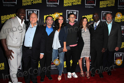 Andre Braugher, Andy Samberg, Joe Lo Truglio, Chelsea Peretti, Melissa Fumero, Dirk Blocker Photo - LOS ANGELES - MAY 7:  Dirk Blocker. Joe Lo Truglio, Melissa Fumero, Andy Samberg, Chelsea Peretti, Andre Braugher, Joel McKinnon Miller at the An Evening With Brooklyn Nine Nine at the Bing Theater at LACMA on May 7, 2015 in Los Angeles, CA