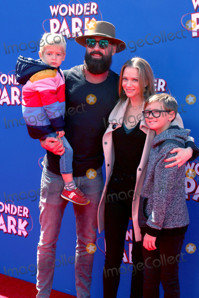 Aj Cook, AJ Cook Photo - LOS ANGELES - MAR 10:  AJ Cook, family at the Wonder Park Premiere at the Village Theater on March 10, 2019 in Westwood, CA