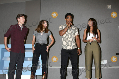 Reign Edwards, Rome Flynn, Anthony Turpel, Courtney Grosbeck Photo - LOS ANGELES - AUG 20:  Anthony Turpel, Courtney Grosbeck, Rome Flynn, Reign Edwards at the Bold and the Beautiful Fan Event 2017 at the Marriott Burbank Convention Center on August 20, 2017 in Burbank, CA