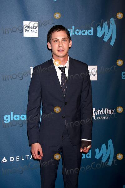 Logan Lerman Photo - LOS ANGELES - APR 20:  Logan Lerman arrives at the 2013 GLAAD Media Awards at the JW Marriott on April 20, 2013 in Los Angeles, CA