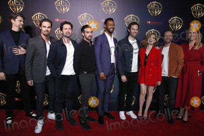 Andy Bean, Bill Hader, Isaiah Mustafa, James Ransone, Jessica Chastain, JAMES RANSON, Jay Ryan, Andy Muschietti Photo - LAS VEGAS - APR 2:  Andy Muschietti, Jay Ryan, Andy Bean, James Ransone, Isaiah Mustafa, Bill Hader, Jessica Chastain, James McAvoy, Barbara Muschietti at the 2019 CinemaCon - Warner Bros Photo Call at the Linwood Dunn Theater on April 2, 2019 in Las Vegas, NV