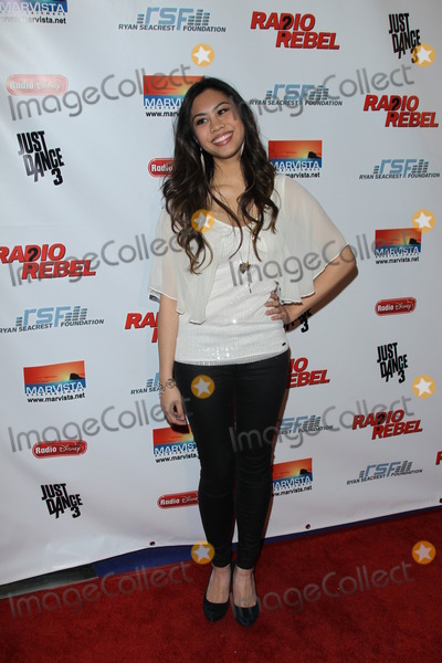 "Ashley Argota Photo - LOS ANGELES - FEB 15:  Ashley Argota arrives at the ""RADIO REBEL"" Telefilm Premiere at the AMC CityWalk Stadium 19 on February 15, 2012 in Los Angeles, CA"