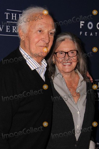 """Audrey Loggia, Robert Loggia, Samuel Goldwyn Photo - LOS ANGELES - OCT 24:  Robert Loggia, Audrey Loggia at the """"The Theory Of Everything"""" Premiere at the AMPAS Samuel Goldwyn Theater on October 24, 2014 in Beverly Hills, CA"""
