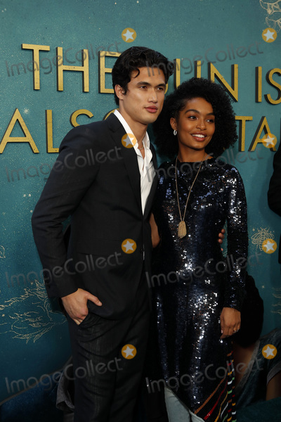 """Yara Shahidi, Charles Melton Photo - LOS ANGELES - MAY 13:  Charles Melton, Yara Shahidi at the """"The Sun Is Also A Star"""" World Premiere at the Pacific Theaters at the Grove on May 13, 2019 in Los Angeles, CA"""