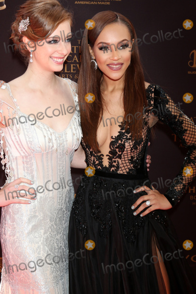 Ashlyn Pearce, Reign Edwards Photo - LOS ANGELES - MAY 1:  Ashlyn Pearce, Reign Edwards at the 43rd Daytime Emmy Awards at the Westin Bonaventure Hotel  on May 1, 2016 in Los Angeles, CA