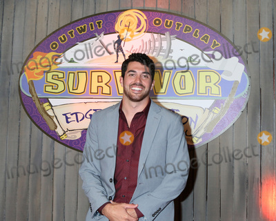 "Edge Photo - LOS ANGELES - MAY 15:  Chris Underwood at the ""Survivor: Edge of Extinction"" Finale at the CBS Radford on May 15, 2019 in Studio City, CA"