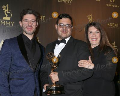 Andrew Gregory, Gregori J Martin, Gregori J. Martin, J. Martin, Kristos Andrews, Kristos Andrew Photo - LOS ANGELES - APR 29:  Kristos Andrews, Gregori J Martin, Wendy Riche at the 45th Daytime Emmy Awards at the Pasadena Civic Auditorium on April 29, 2018 in Pasadena, CA