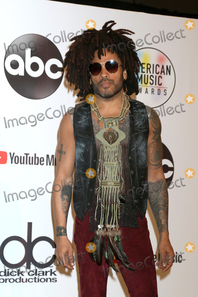 Lenny Kravitz Photo - LOS ANGELES - OCT 9:  Lenny Kravitz at the 2018 American Music Awards at the Microsoft Theater on October 9, 2018 in Los Angeles, CA