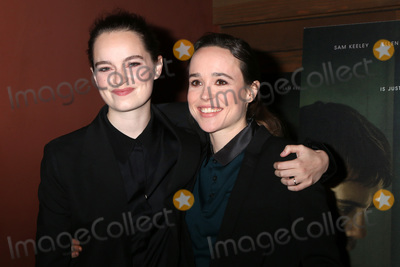 "Ellen Page, The Cure Photo - LOS ANGELES - FEB 20:  Emma Portner, Ellen Page at ""The Cured"" LA Screening at Sunset 5 Theater on February 20, 2018 in West Hollywood, CA