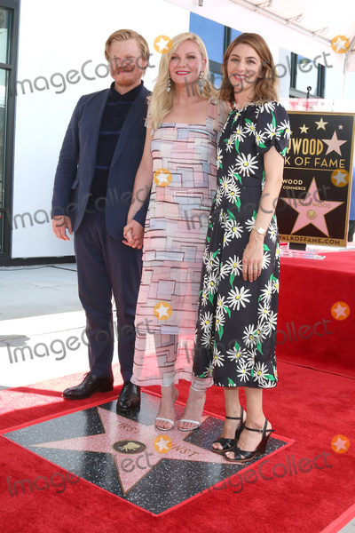 Jesse Plemons, Kirsten Dunst, Sofia Coppola Photo - LOS ANGELES - AUG 29:  Jesse Plemons, Kirsten Dunst, Sofia Coppola at the Kirsten Dunst Star Ceremony on the Hollywood Walk of Fame on August 29, 2019 in Los Angeles, CA