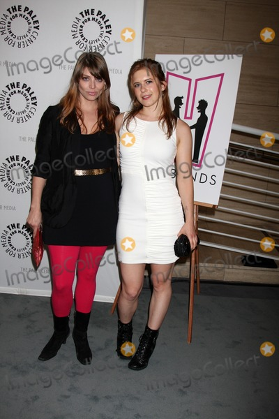 """Amber Benson, Magda Apanowicz, The Husbands Photo - Beverly Hills - AUG 13:  Amber Benson, Magda Apanowicz arrives at the """"Husbands"""" Season Two Premiere Panel at Paley Center for Media on August 13, 2012 in Beverly Hills, CA"""