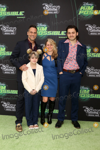 """Todd Stashwick Photo - LOS ANGELES - FEB 12:  Todd Stashwick, Charity Stashwick, Children at the """"Kim Possible"""" Premiere Screening at the TV Academy on February 12, 2019 in Los Angeles, CA"""