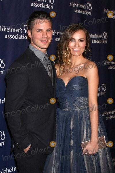 Matt Lanter, Angela Lanter Photo - LOS ANGELES - MAR 18:  Matt Lanter, Angela Lanter at the 23rd Annual A Night at Sardi's to benefit the Alzheimer's Association at the Beverly Hilton Hotel on March 18, 2015 in Beverly Hills, CA
