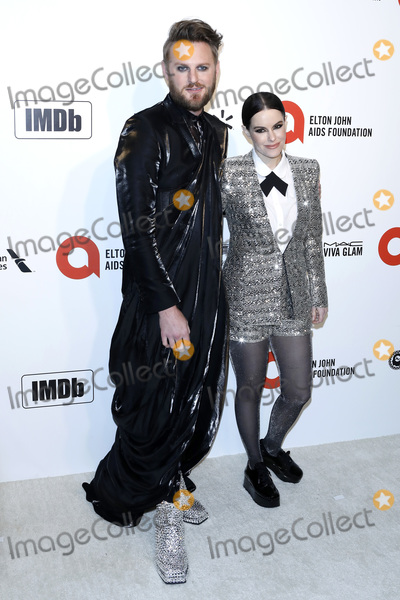 Elton John, Emily Hampshire, Bobby Berk Photo - LOS ANGELES - FEB 9:  Bobby Berk, Emily Hampshire at the 28th Elton John Aids Foundation Viewing Party at the West Hollywood Park on February 9, 2020 in West Hollywood, CA