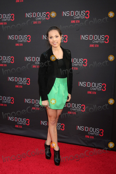 """Aneliz Aguilar Photo - LOS ANGELES - JUN 4:  Aneliz Aguilar at the """"Insidious Chapter 3"""" Premiere at the TCL Chinese Theater on June 4, 2015 in Los Angeles, CA"""