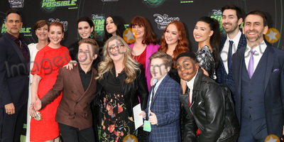 """Photo - LOS ANGELES - FEB 12:  Kim Possible Cast at the """"Kim Possible"""" Premiere Screening at the TV Academy on February 12, 2019 in Los Angeles, CA"""