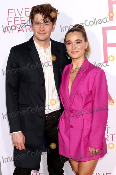 "Brett Dier Photo - LOS ANGELES - MAR 7:  Brett Dier, Haley Lu Richardson at the ""Five Feet Apart"" Premiere at the Bruin Theater on March 7, 2019 in Westwood, CA"