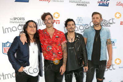 American Authors Photo - LOS ANGELES - JUL 17:  American Authors Band at the 4th Annual Sports Humanitarian Awards on The Novo on July 17, 2018 in Los Angeles, CA