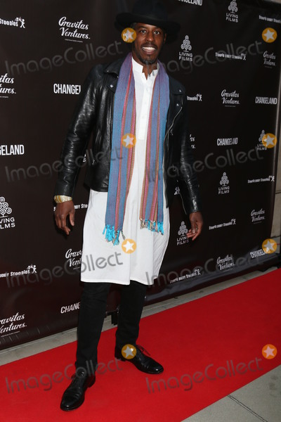 """Ahmed Best Photo - LOS ANGELES - JUN 3:  Ahmed Best at the """"Changeland"""" Los Angeles Premiere at the ArcLight Hollywood on June 3, 2019 in Los Angeles, CA"""