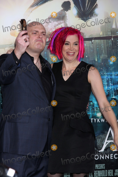 """Andy Wachowski, Lana Wachowski Photo - LOS ANGELES - OCT 24:  Andy Wachowski, Lana Wachowski arrives at the """"Cloud Atlas""""  Los Angeles Premiere  at Grauman's Chinese Theater on October 24, 2012 in Los Angeles, CA"""