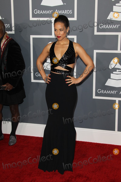 Alicia Keys, Grammy Awards Photo - LOS ANGELES - FEB 10:  Alicia Keys arrives at the 55th Annual Grammy Awards at the Staples Center on February 10, 2013 in Los Angeles, CA