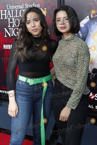 Aneliz Aguilar, Angela Aguilar Photo - LOS ANGELES - SEP 12:  Aneliz Aguilar, Angela Aguilar at the Halloween Horror Nights at the Universal Studios Hollywood on September 12, 2019 in Universal City, CA